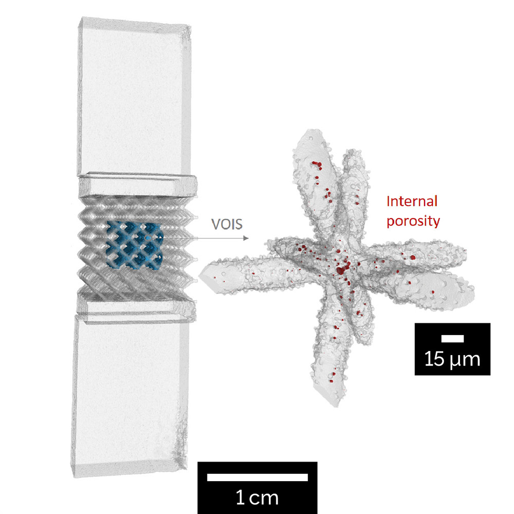 Additive manufacturing - Ti-6Al-V lattice