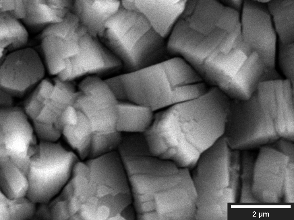 ZnP particles in Al substrate
